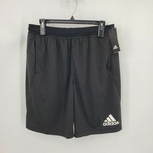 New Adidas M Bos Shorts Black Athletic Activewear